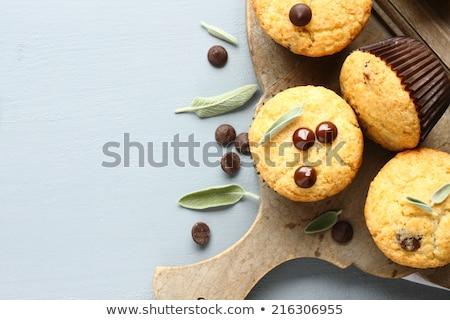 Lezzetli ev yapımı glutensiz çikolata damla Stok fotoğraf © Melnyk