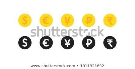 ceny · waluta · wymiany · wektora · złoty · monet - zdjęcia stock © pikepicture