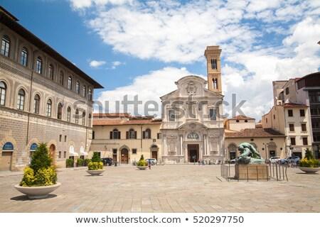 フィレンツェ イタリア 教会 建物 市 ストックフォト © borisb17
