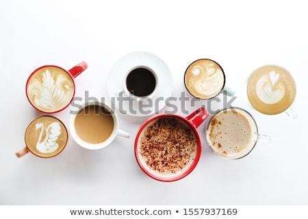 Assortiment différent lait écrou fond groupe Photo stock © Alex9500