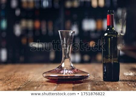 toma · muestra · vino · blanco · vino · fabricante - foto stock © lichtmeister