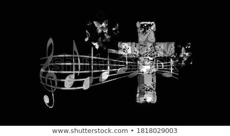 kerk · koor · zingen · lied · concert · vector - stockfoto © pikepicture