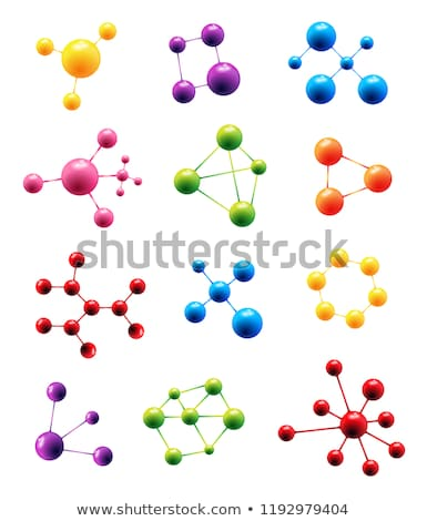 Molecule Pharmaceutical Scientific Model Vector Stock photo © pikepicture