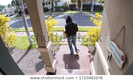 Package Delivery Theft Stock photo © Lightsource