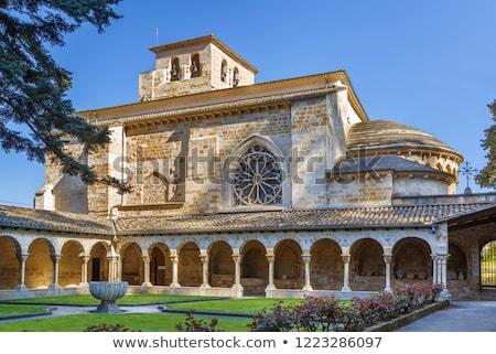 Church of San Pedro de la Rua, Estella, Spain Stock photo © borisb17