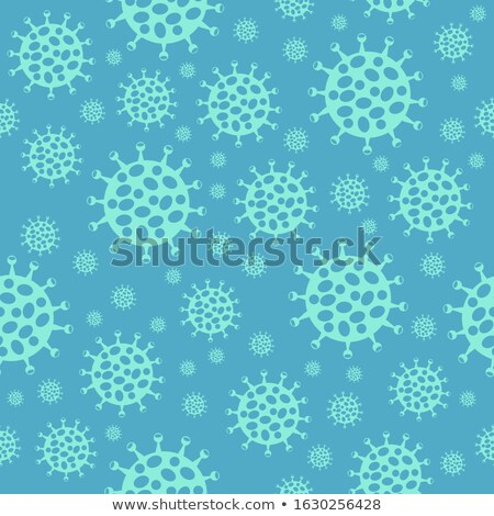 Coronavirus pattern seamless. virus background. Global epidemic  Stock photo © popaukropa