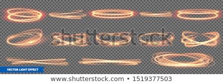 火災 渦 孤立した 黒 コンピューターグラフィックス 花 ストックフォト © RAStudio