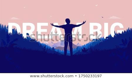 Aspiration concept Stock photo © orla