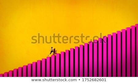 Women in leadership positions. 3d illustration. Stock photo © limbi007
