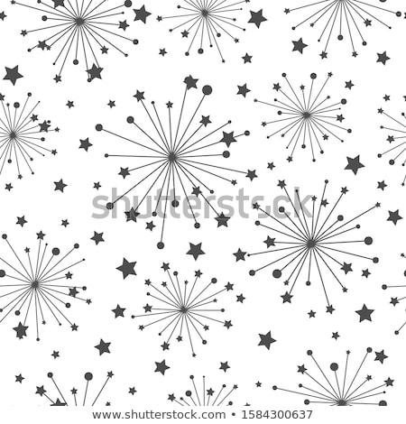 одуванчик звезды ночное небо стороны небе фон Сток-фото © MyosotisRock