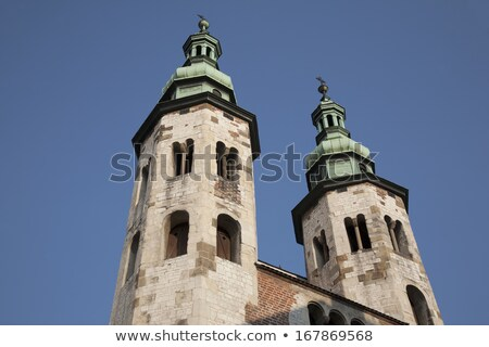 Kościoła Polska starówka dzielnica historyczny Zdjęcia stock © borisb17