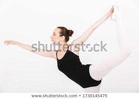 Image femme ballerine danse Photo stock © deandrobot