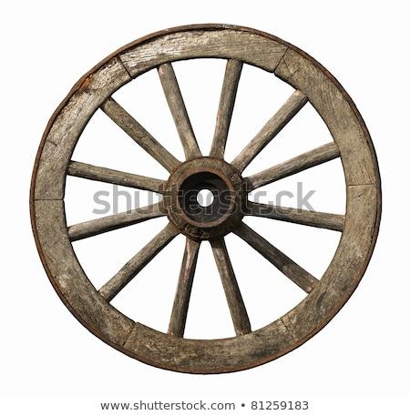 古い 木製 ホイール アンティーク ストックフォト © Freelancer