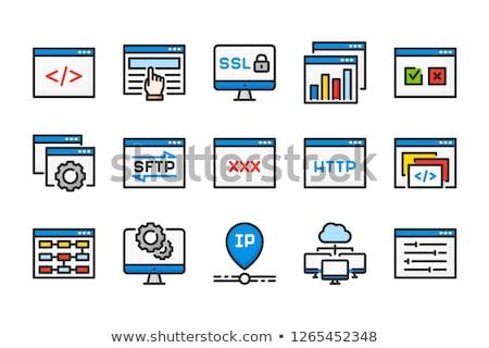 Xxx ボタン コンピュータ セックス インターネット キー ストックフォト © leeser