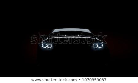 мнение черный Спортивный автомобиль Pack автомобилей Сток-фото © digitalstorm