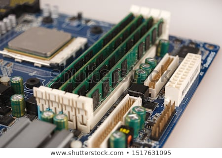 память · фотография · компьютер · белый · технологий - Сток-фото © pongam
