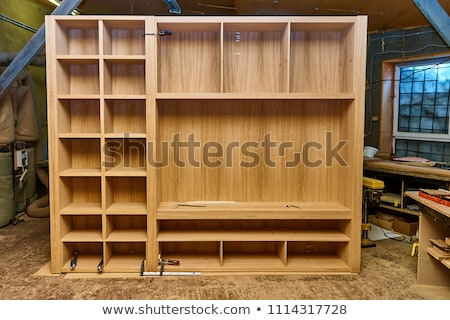 wardrobe in construction Stock photo © cynoclub
