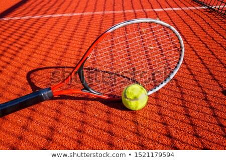 テニス 影 女性 プレーヤー 脚 ストックフォト © Sportlibrary