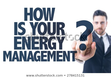 Energie Verbrauch Gebäude Bau Arbeit Industrie Stock foto © photography33