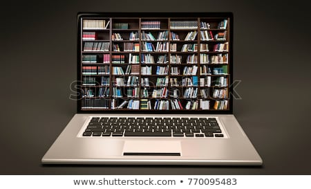 Digital Library Concept Stock photo © adamr