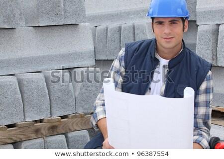 desenho · elétrico · edifício · projeto · indústria · industrial - foto stock © photography33