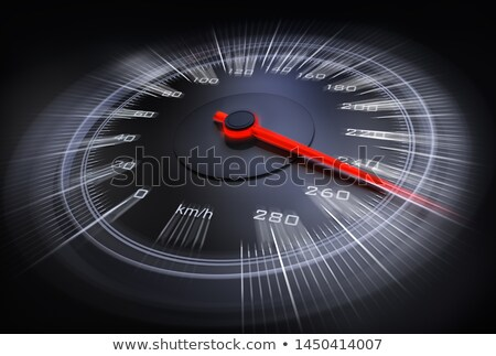Speedometer close up Stock photo © ozaiachin