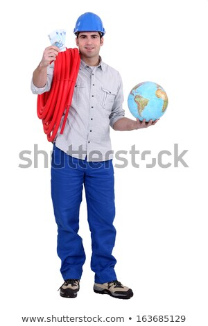 manual · trabajador · mundo · dinero · financiar - foto stock © photography33