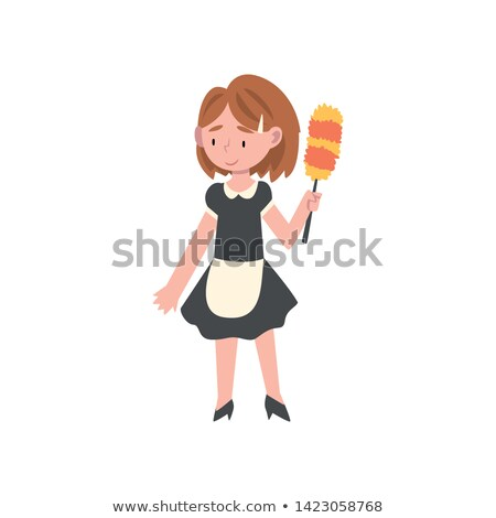 A little girl dressed as a maid. Stock photo © photography33
