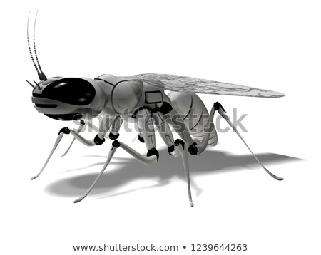 Robot Wasp Stock photo © AlienCat