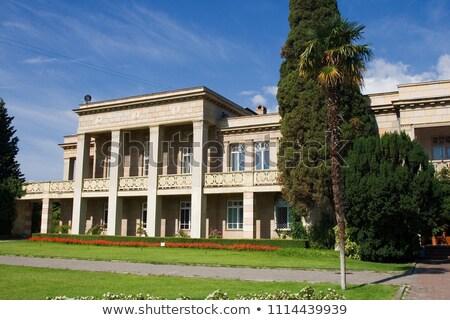 palácio · imagem · dentro · casa · edifício - foto stock © sophie_mcaulay