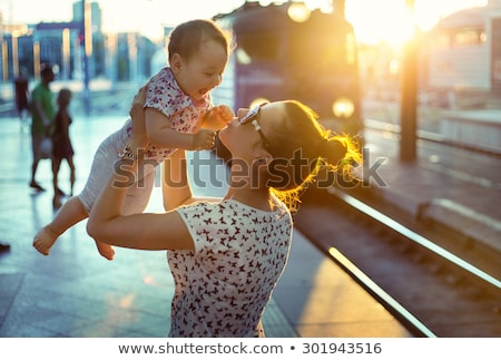 Urban Parenting Stock photo © Lightsource