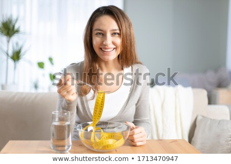 Dieting and healthy living Stock photo © Lightsource