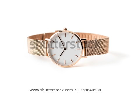 Wristwatch on a white background Stock photo © ozaiachin