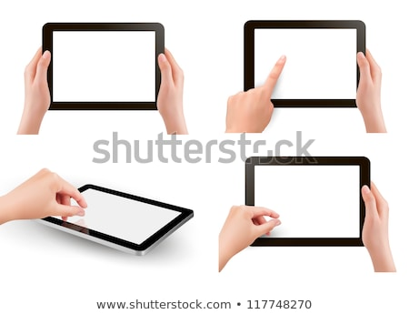 tablet pinch Stock photo © jarp17