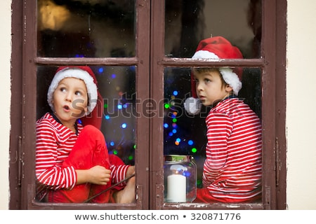 Praying Santa Claus portrait  Stock photo © HASLOO