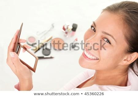 Kadın makyaj portre kız seksi Stok fotoğraf © dukibu