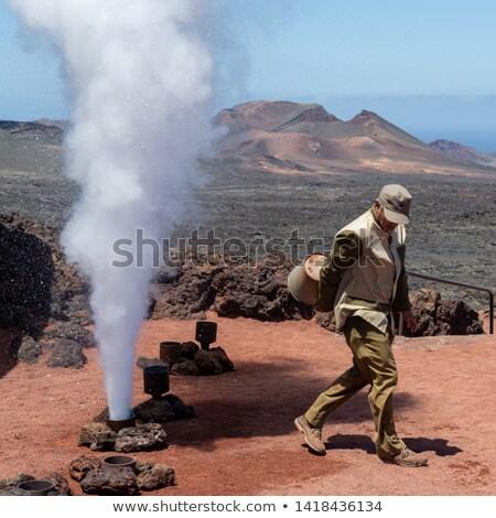 火山 · 公園 · スペイン · パノラマ · 自然 · 風景 - ストックフォト © meinzahn