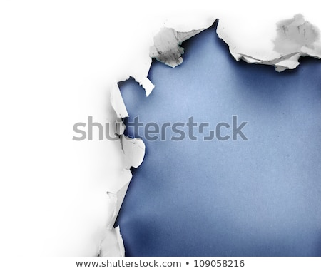 Stockfoto: Discovery Torn Paper Concept