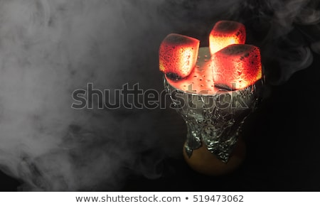 black sheesha stock photo © aeyzrio