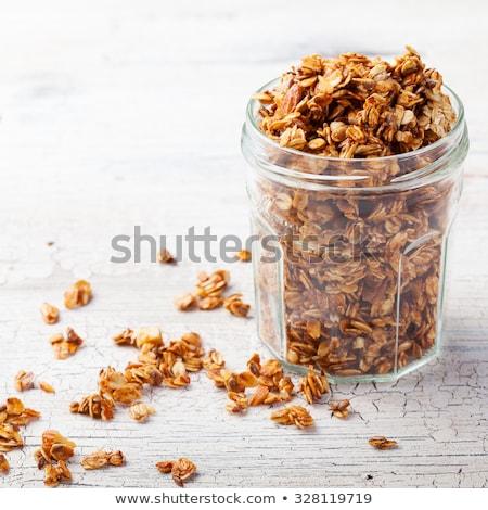Organic granola Stock photo © MSPhotographic