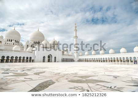 Abu Dabi cami güzel Birleşik Arap Emirlikleri mimari Stok fotoğraf © bloodua