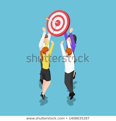 Focus on the Main Concept - Hit Target. Stock photo © tashatuvango