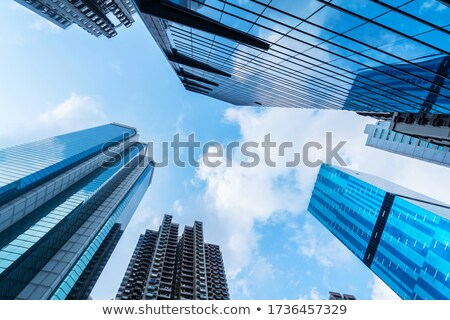 Low angle view of clouds in the sky Stock photo © bmonteny