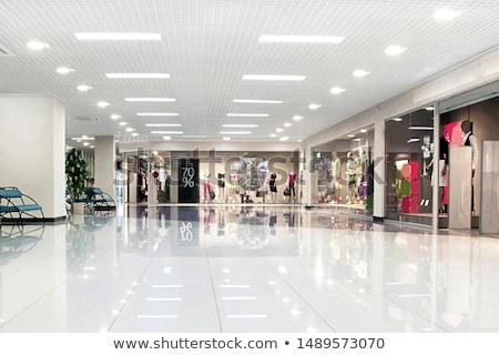 épületbelsők pláza üzlet divat bolt piac Stock fotó © bmonteny