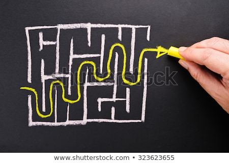 Finding the right direction Stock photo © stokkete