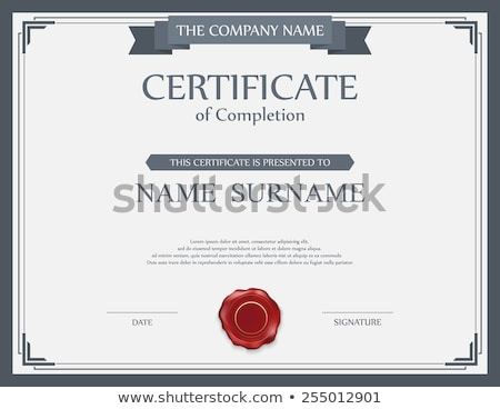 Certificate Border Stock photo © andrejco