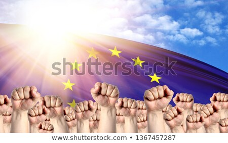 European Labour movement, workers union strike Stock photo © stevanovicigor
