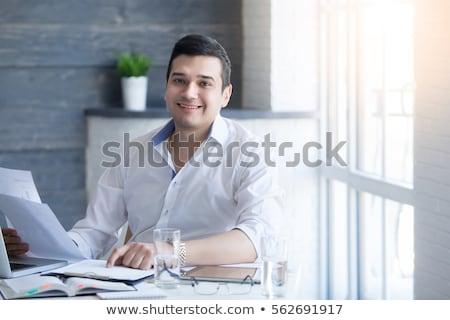 Indian businessman in formalwear Stock photo © szefei