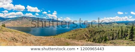 Сток-фото: озеро · британский · широкий · реке · популярный