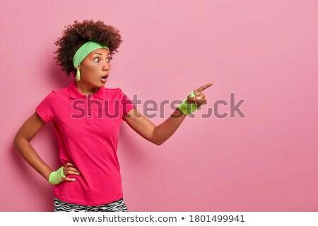 Jeunes dame jeune femme Photo stock © majdansky